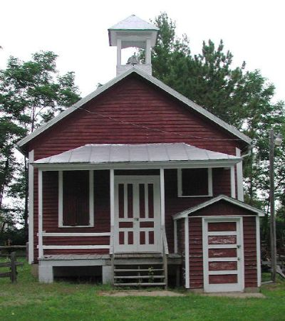 picture of old fashioned school house - house and home design
